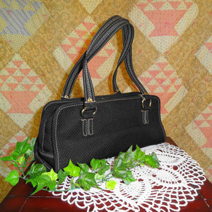 SAK satchel purse in black